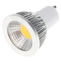 LED, GU10, 110V, 5x1W, COLD WHITE, DIMMABLE