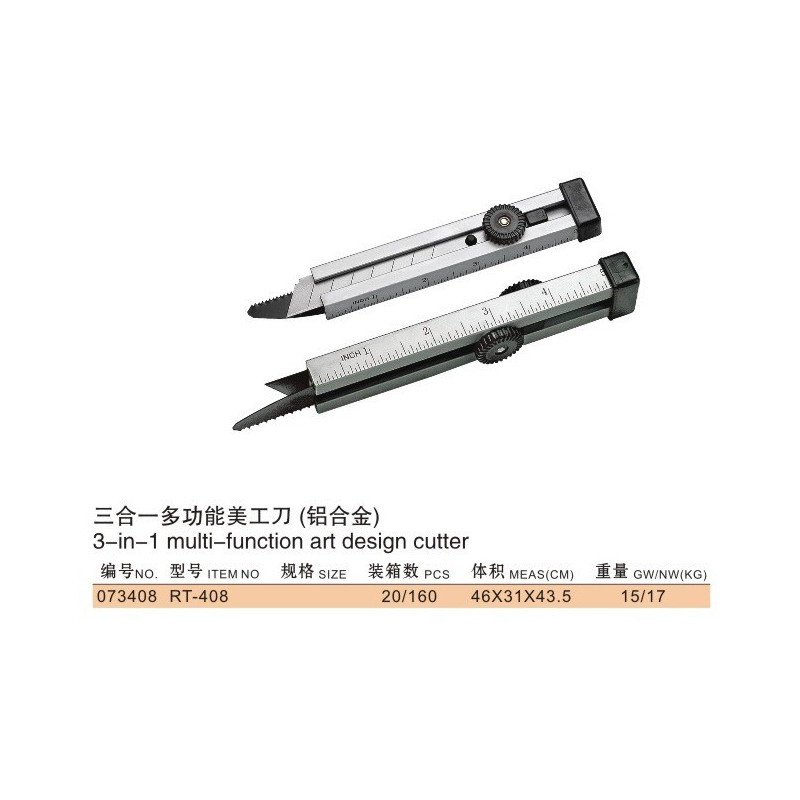 TOOL, EXACTO KNIFE W/SAW CUTTER, RT-408