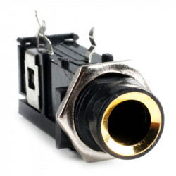 "1/4"" MONO PHONE PC MOUNT SLF-3104"