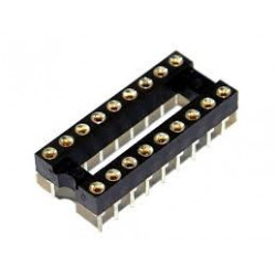 IC SOCKET 18-PIN MACHINE