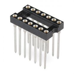 IC SOCKET 14-PIN WRAPPING