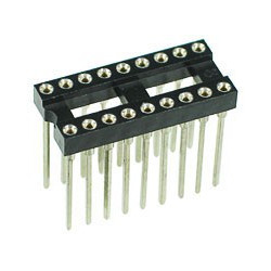 IC SOCKET 18-PIN WRAPPING