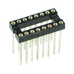 IC SOCKET 16-PIN WRAPING