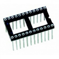 IC SOCKET 24-PIN WRAPING