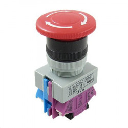 PUSH BUTTON EMERGENCY ALEPB-22 1NO+1NC