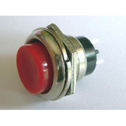 PUSH BUTTON 250VAC 2A (ON)-OFF DS-212