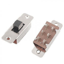 SLIDE SWITCH DPDT  ON-ON 6PIN (LARGE) PBS-110-C