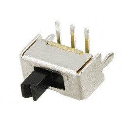 SLIDE SWITCH MINI ON-ON 30V 0.3A RIGHT SIDE