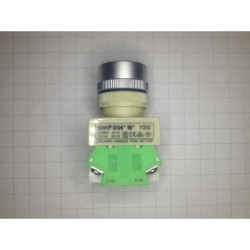 PUSH BUTTON SWITCH NC/NO RED Y090-RM
