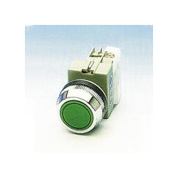 PUSH BUTTON SWITCH N/O GREEN APB-30