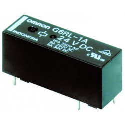 RELAY OMRON G6RL-1-SR-ASI-DC24 SPDT 10A PCB MOUNT