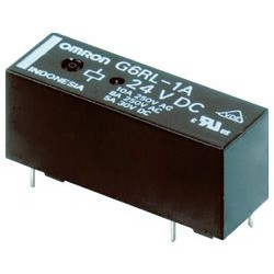 POWER RELAY,24VDC COIL,SPST-NO,10A