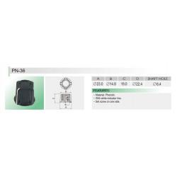 KNOB PN-36 6.4MM