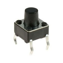 TACK SWITCH 6X6X10MM