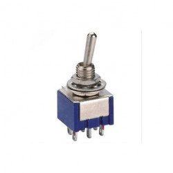 TOGGLE SWITCH,DPDT,ON-ON,4A,SOLDER LUG