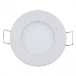 LED CEILING PANEL LIGHT, ROUND, 3W, WARM WHITE