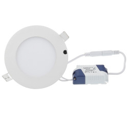 LED CEILING PANEL LIGHT, ROUND, 3W, COLD WHITE
