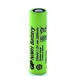BATTERY,CORDLESS PHONE,GP,NiMH,1.2V,2200mAH