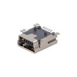 USB MINI B(F) SMD MOUNT