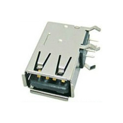 USB A(F) PCB CONNECTORS RIGHT ANGLE SIDE