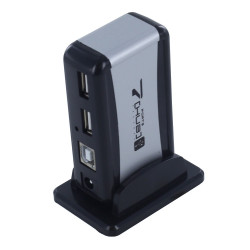 USB 2.0 HUB 7 PORTS W/AC POWER