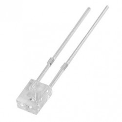 LED SQUARE 2X3MM WHITE
