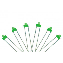 LED 1.8MM GREEN 4PCS
