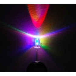 LED 5MM TRIPLE COLOR (FAST) BLINK