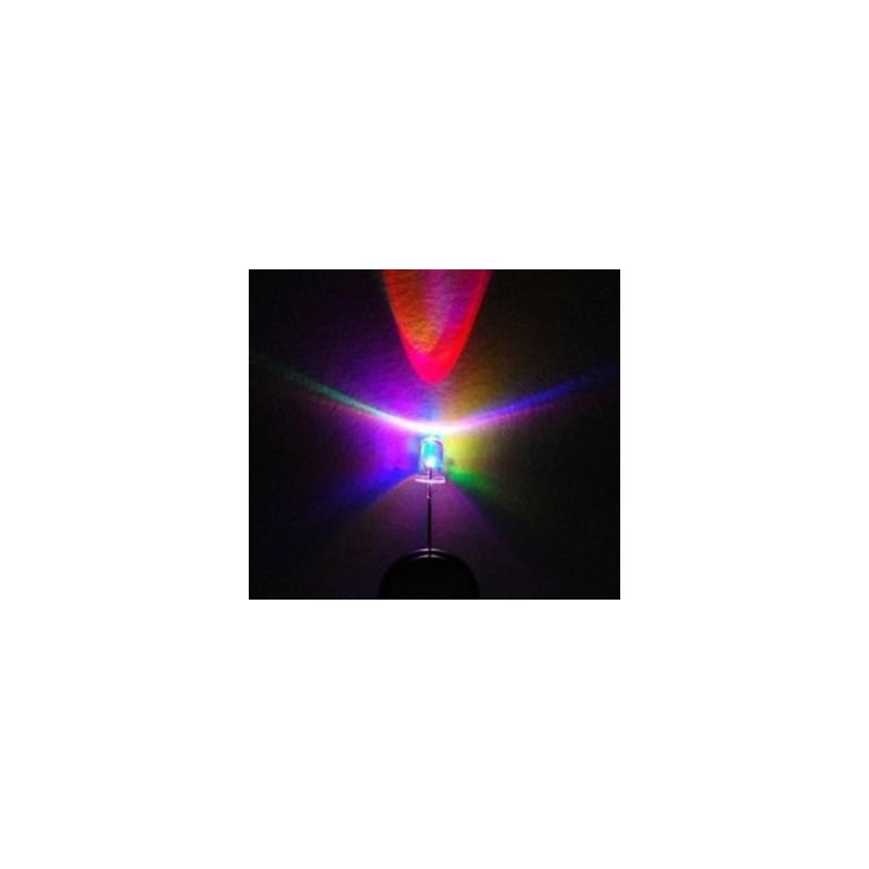 LED 5MM TRIPLE COLOR (FAST) BLINK