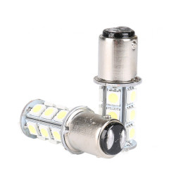 LED MARINE BULB 12VDC WARM WHITE S25-5050-13