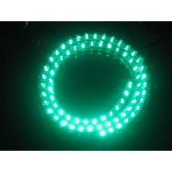 LED ROPE 12VDC 48CM GREEN