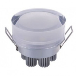 CEILING LED, ROUND, 7X1W, COLD WHITE W/120V DRIVER