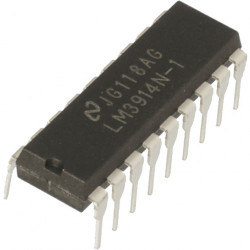 IC LM3914 DOT/BAR LED DRIVER
