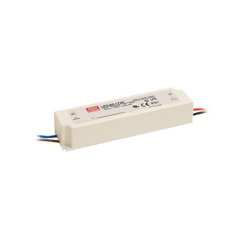 POWER SUPPLY, LED SWITCHING, IP67,LPC-60-1750