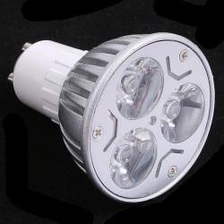LED SPOT LIGHT, GU10, 110V, 3x1W, COLD WHITE