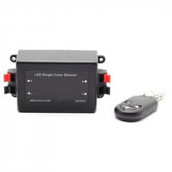 LED DIMMER CONTROLLER W/RF REMOTE 12-24V 8A