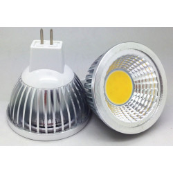 LED COB-3W, MR16, 12V, WARM WHITE