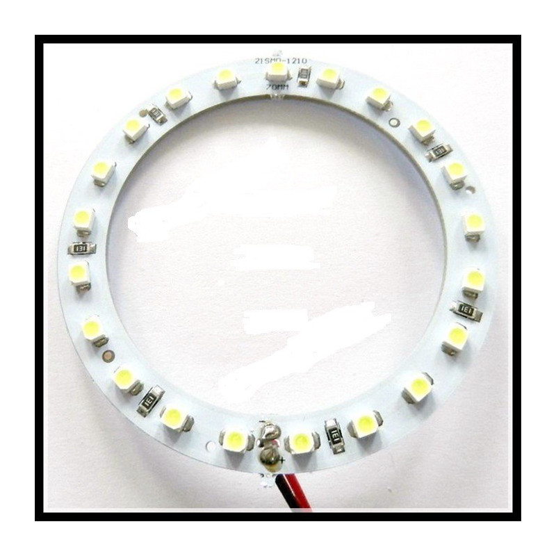 LED RING RED 70MM 12V