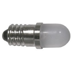 LED T3 SCREW 12V 10MM WHITE 55-121W-0