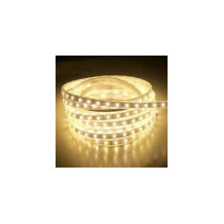 LED STRIP, 3528, 120LED, W/SILICON, WARM WHITE