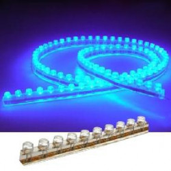 LED ROPE 12VDC 96CM BLUE SMD