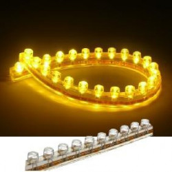 LED ROPE 12VDC 120CM YELLOW