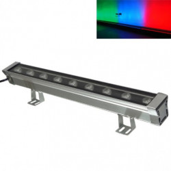 LED, 9W WALL WASH, RGB W/ REMOTE