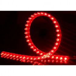 LED ROPE 12VDC 96CM RED