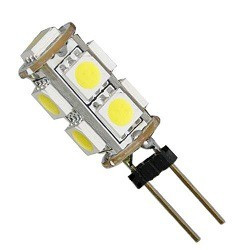LED, G4, 2PIN, 9 LED, COLD WHITE