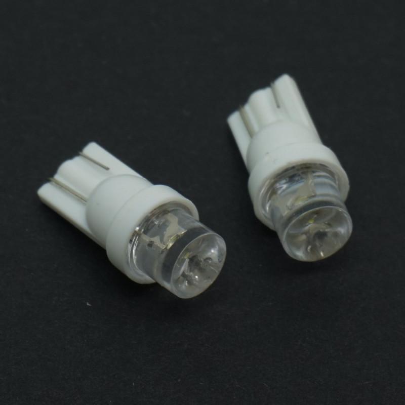 LED 8MM WEDGE BASE 12V WHITE