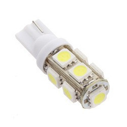 LED T10-5050-9LED WHITE 194 REPLACEMENT