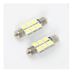 LED FESTOON REPLACEMENT 45MM WHITE WITH 5050