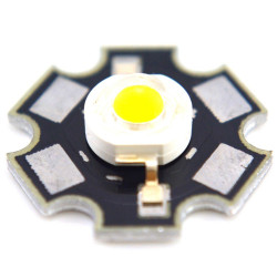 LED 3W, WARM WHITE, 700MA, 3.6VDC