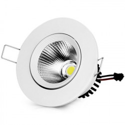 LED CEILING COB LIGHT, 3W, WARM WHITE, 85-265V